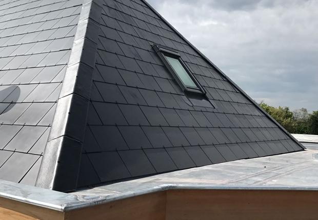 Platte en hellende daken